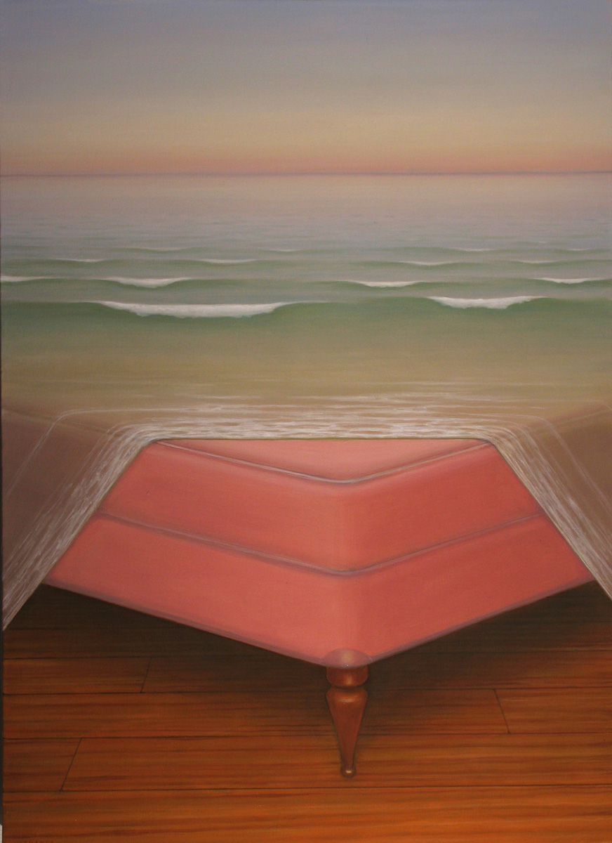 John Fraser - The Water Bed - Oil on canvas - 100 x 81cm - 2005