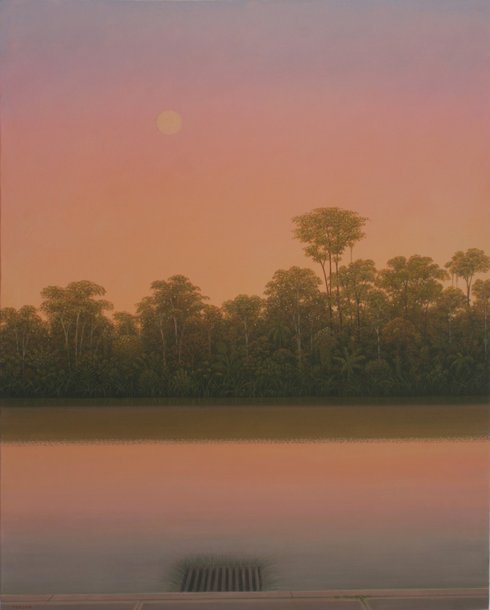 John Fraser - El Otro Lado - Oil on canvas 130 x 97cm 2012